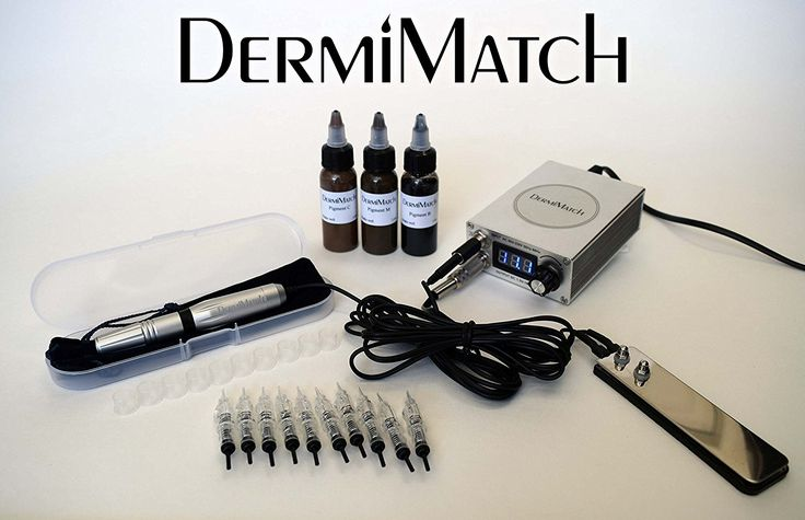 Complete Scalp Micropigmentation kit by DermiMatch Pigments: All 3 pigments (3 1 oz bottles), C, M, and B Needles: 10 single prong needles, 1 Scalp  Read more http://cosmeticcastle.net/complete-scalp-micropigmentation-kit-by-dermimatch/  Visit http://cosmeticcastle.net to read cosmetic reviews