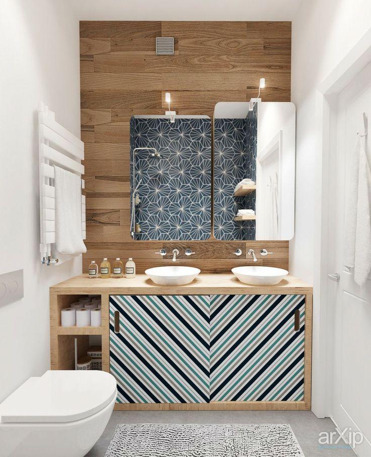 Интерьер дома в Подмосковье (ванная): интерьер, квартира, дом, санузел, ванная…