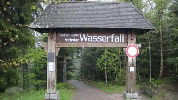 Deutschlands höchster Wasserfall - YouTube