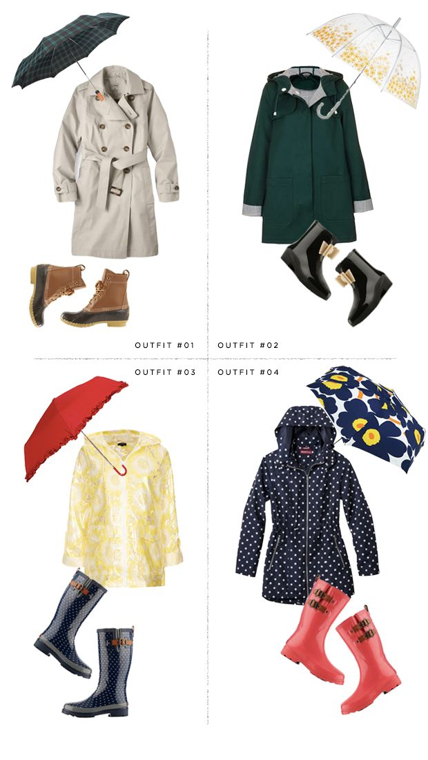 The snowstorms are (hopefully) on their way out...and here come the rainy days. Janet Sahm, Verily's Style Editor, has curated the chicest list of rainwear we've ever seen. Which is your favorite? #verilystyle