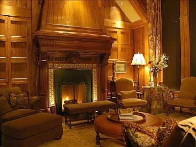 English manor house interior design