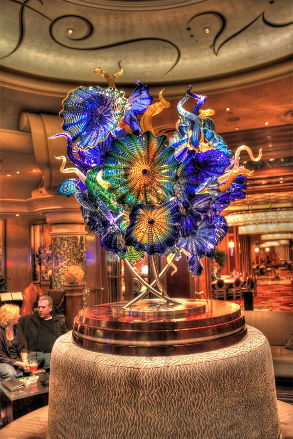 Dale Chihuly at the Bellagio