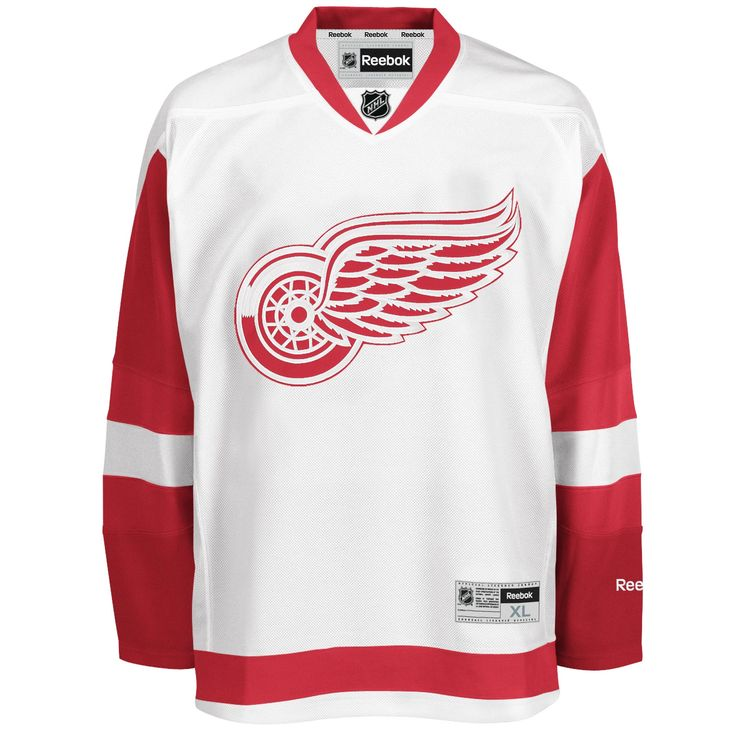 Detroit Red Wings Adult Reebok Premier Road Jersey DetroitGameGear.com has GREAT PRICES & SUPER FAST SHIPPING