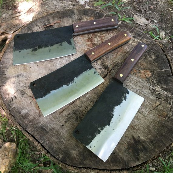 Butcher knife  meat cleaver-chef knife hand by CarterandSonForge