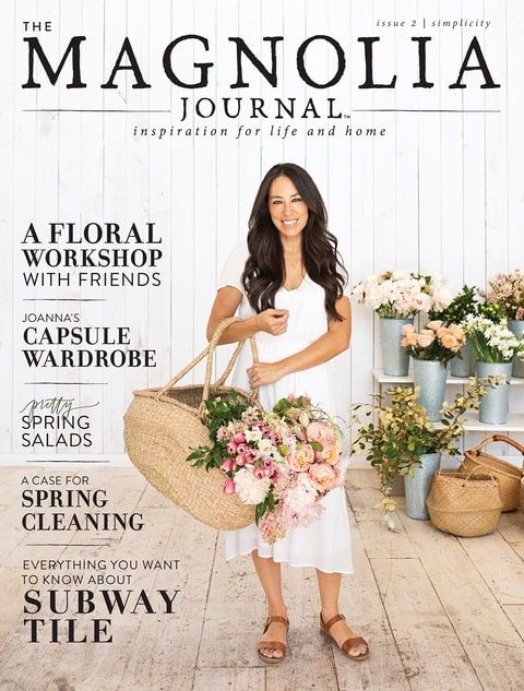 Joanna Gaines Magnolia Journal cover
