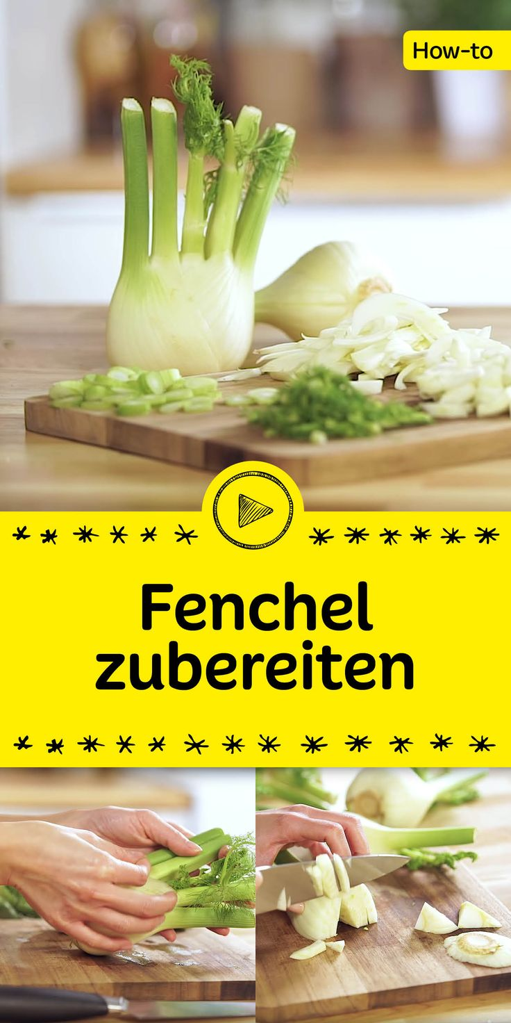Weißt du eigentlich wie man Fenchel richtig zubereitet? Wir zeigen dir im heutigen Video, welche Dinge du beim Schneiden beachten solltest und welche Teile du von der köstlichen Fenchelknolle verwenden kannst.