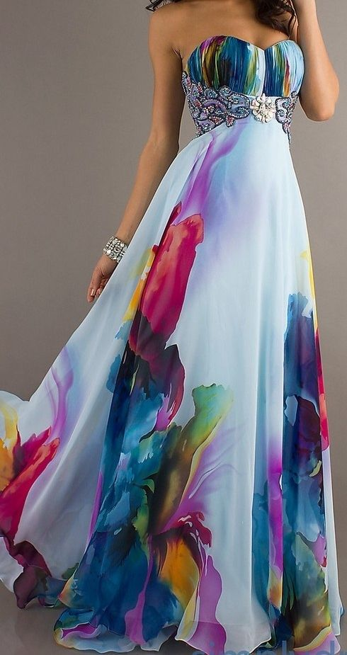 Moda Festa Verao 2014 vestidos estampados qué te parece este Lau?