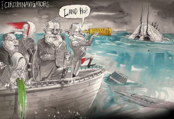 Christine Vomits, David Rowe, Financial Review   Political Cartoons Australia