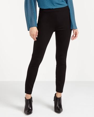 The Petite Modern Stretch Solid Leggings - New
