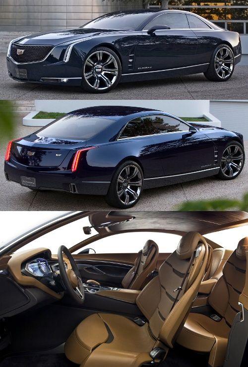 The 2013 Cadillac Elmiraj Concept! [Caddy, build this shit!]