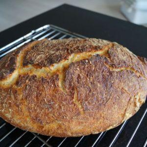 Verdens bedste brød - grydebrød med kærnemælk