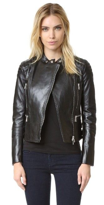 Belstaff Sidney Leather Jacket | SHOPBOP