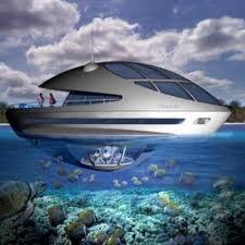 Tu propia casa sumergida en el mar!!