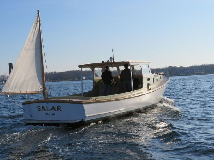 1955 Rockland Boat Company Lobster Boat Power Boat For ...
