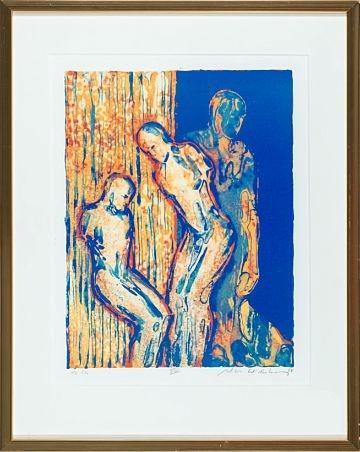 """Nico Widerberg, """"VIII"""" 1998 / Grafikk / Nettauksjon / Blomqvist - Blomqvist Kunsthandel"""