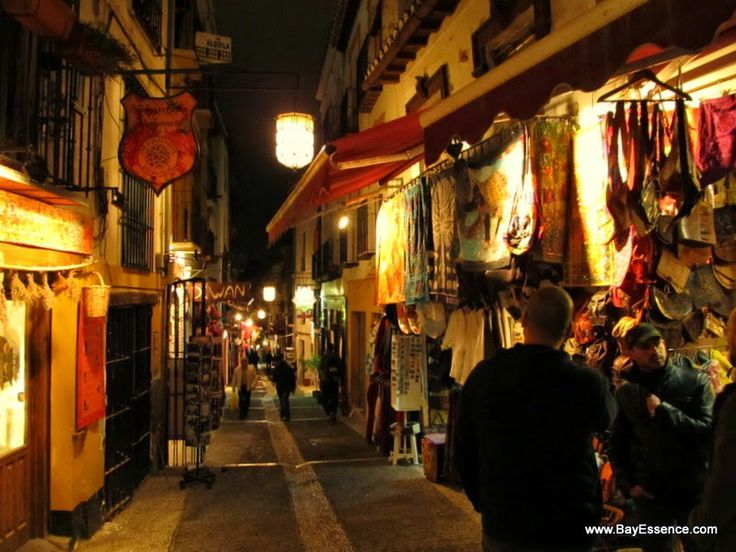 The Albaicin, old Moorish neighborhood  | Granada, Spain | www.bayessence.com