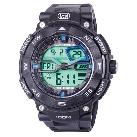 RELOJ ANALÓGICO Y DIGITAL TREVI SG 320 RACER NEGRO #electronics #technology #tech #holamobibellpuig #electronic #device #gadget #gadgets #instatech #instagood #geek #techie #nerd #techy #photooftheday #computers #laptops #hack #screen