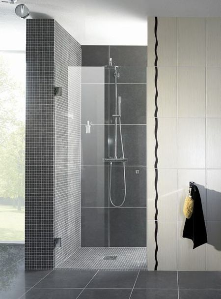 Glazen douchedeur   badkamer inspiratie   vidre glastoepassingen