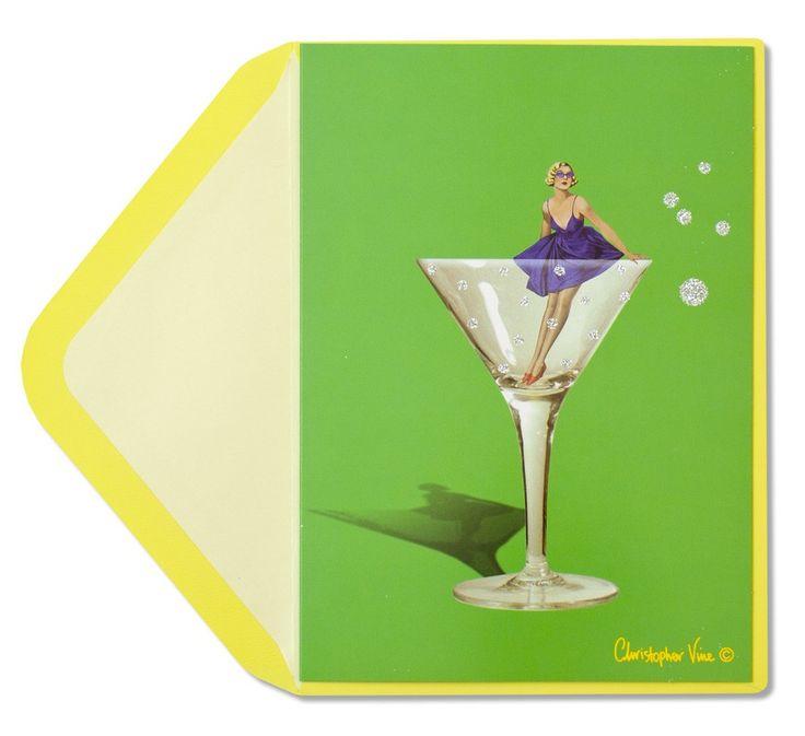 Girl In Martini Glass Price $4.95