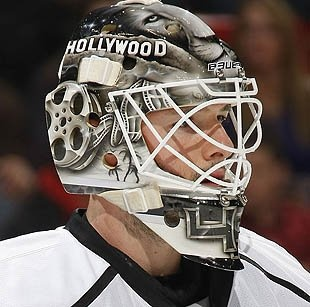 Kings goalie Jonathan Bernier must say goodbye to Hollywood mask or pay up, says report