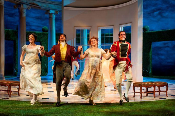 Christine Weber (Jane Bennet), Juan Rivera Lebron, Aeysha Kinnunen (Lydia Bennet) and Emanuel Ardeleanu in Pride and Prejudice