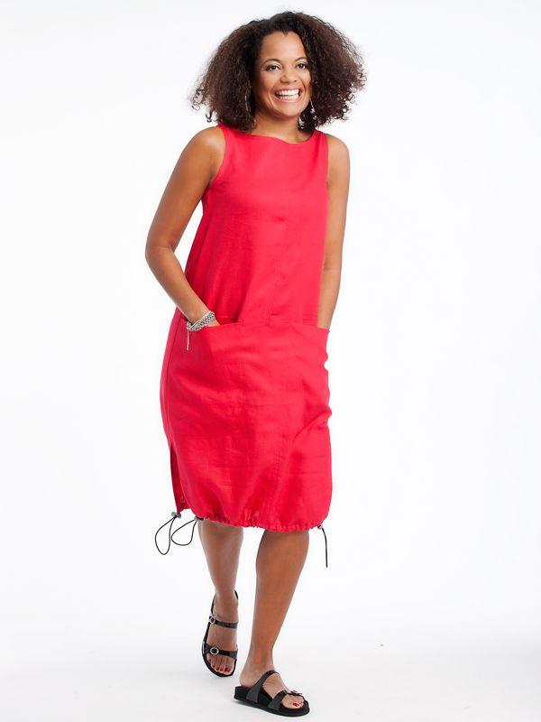 Linen tunic  www.lousjeandbean.ca  #lousjeandbean #linen #shoplocal #canadianmade Tessa Oort ~ Lousje & Bean