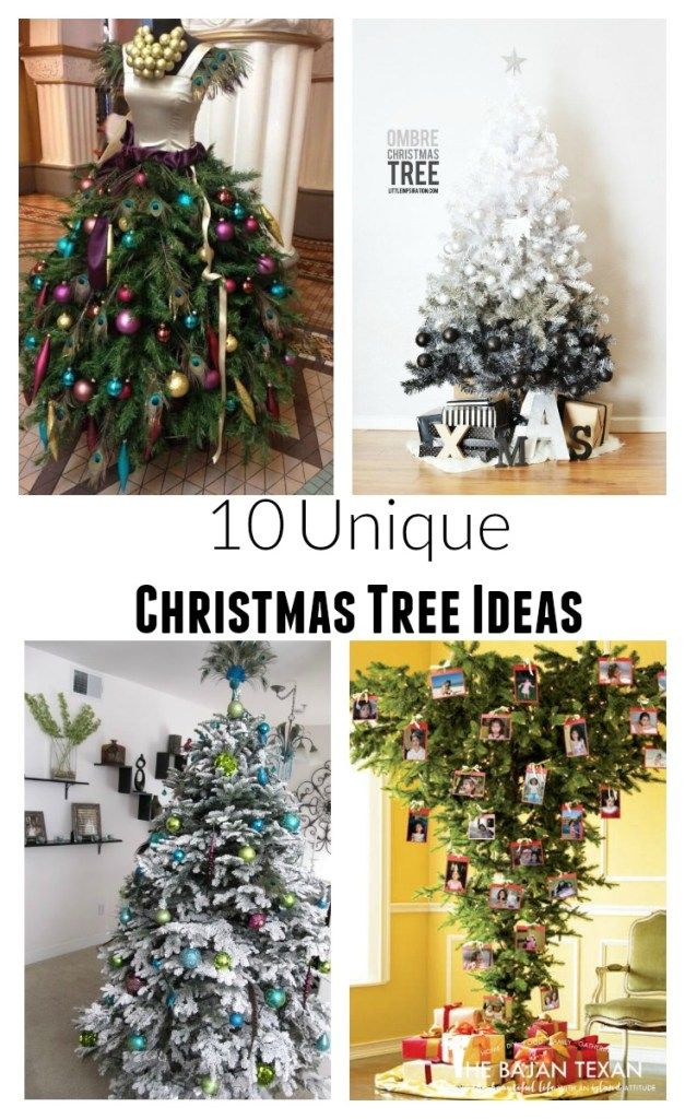 10 Unique Ways to Decorate a Christmas Tree Entertaining