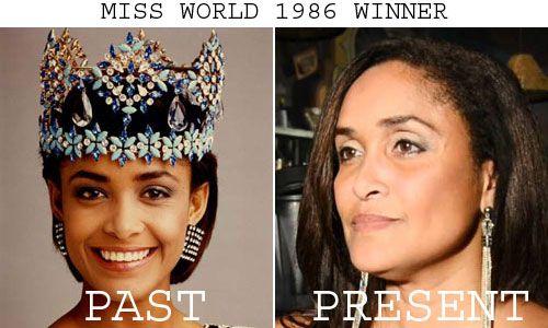 Giselle Laronde won Miss World 1986