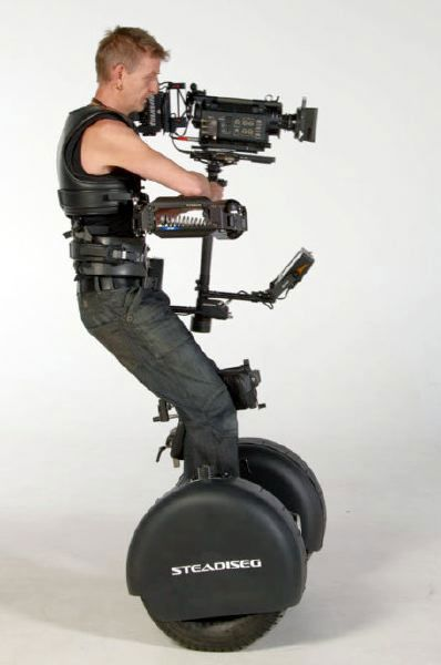 Segway-Steadicam mobile camera rig helps capture the Olympic Games