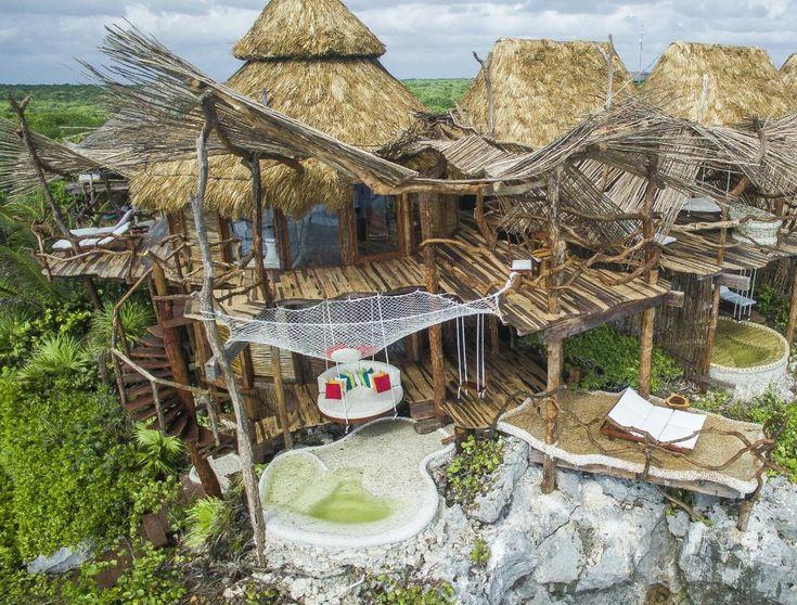 Azulik treehouse hotel in tulum