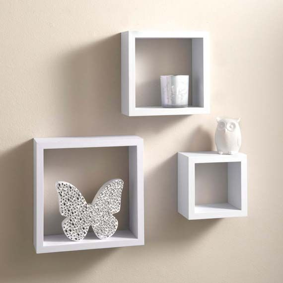 Capri 3 Set Wall Shelves White desktop.info.alt_image