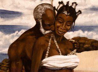 Baba Obatala and his wife Yeye Yemoja