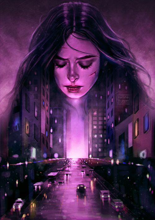 Purple City - Varsha Vijayan