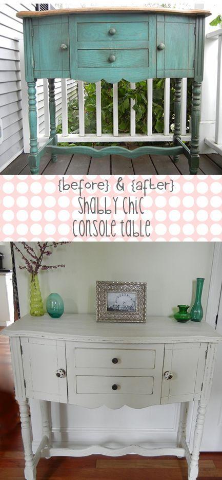 Die besten 25+ Shabby chic console table Ideen auf Pinterest - wohnzimmer ideen shabby chic