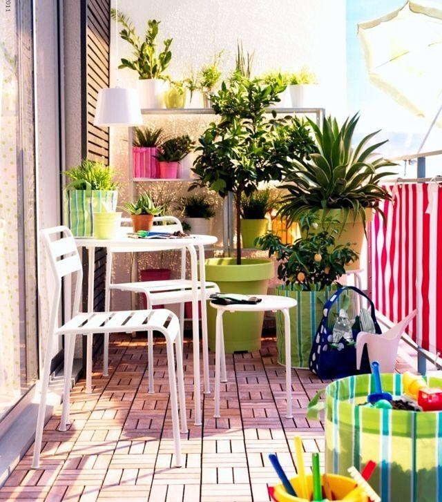 126 best images about d coration pour petit balcon on. Black Bedroom Furniture Sets. Home Design Ideas