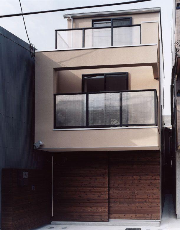 長屋を切り離したローコスト住宅・間取り(大阪市生野区) | 注文住宅なら建築設計事務所 フリーダムアーキテクツデザイン