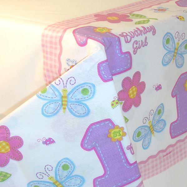 Tovaglia 1° compleanno bambina pz.1 AMS571012   Europarty