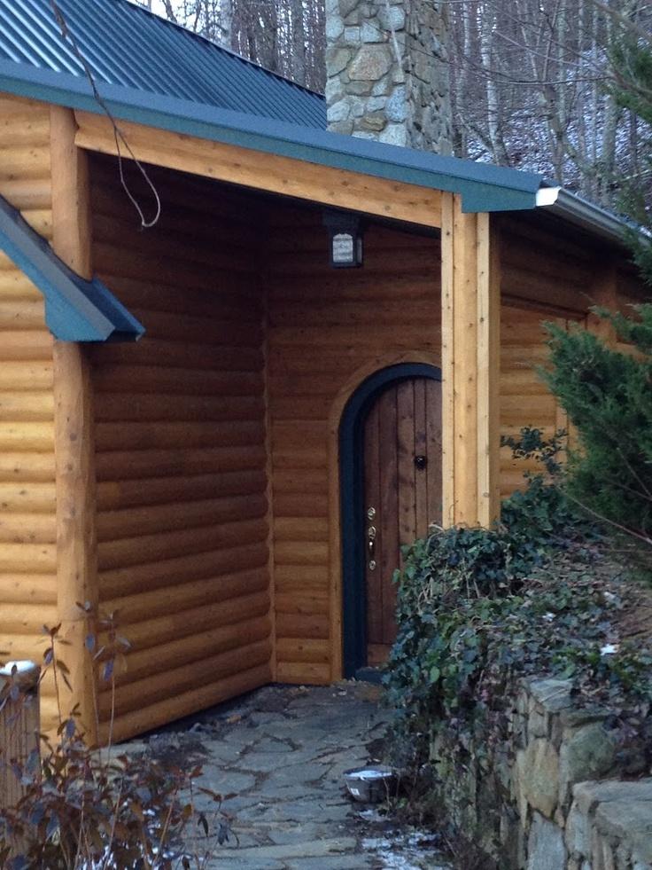 156 Best Images About Log Homes Log Siding On Pinterest
