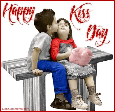 Latest Happy Kiss Day 2018 GIF Images Download