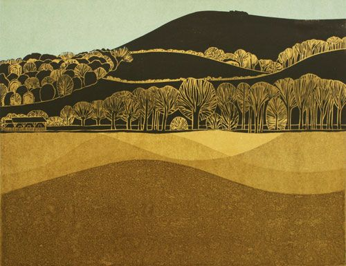 Downs and Winter Pasture 1/6 by Robert Tavener