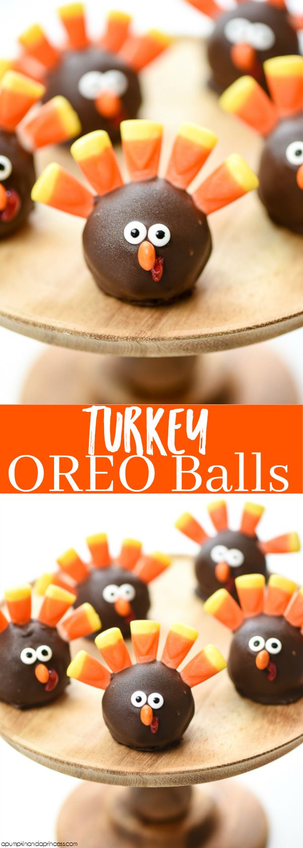 How to make Turkey OREO Balls – Easy Thanksgiving treats for kids MichaelsMakers A Pumpkin And A Princess