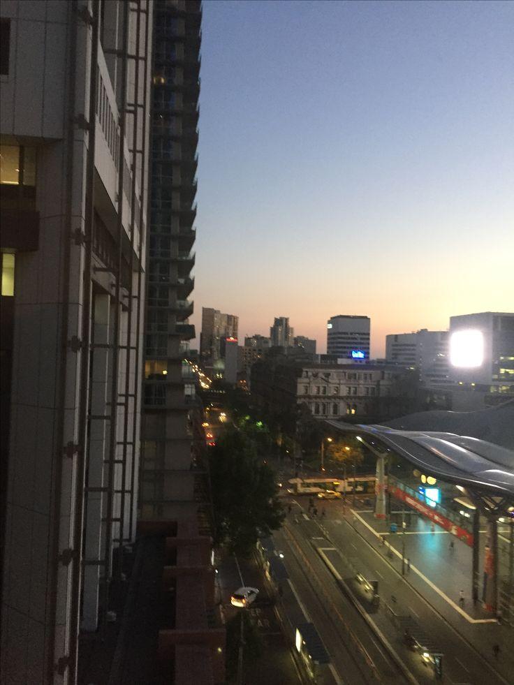 Sunset savoy hotel Melbourne Australia