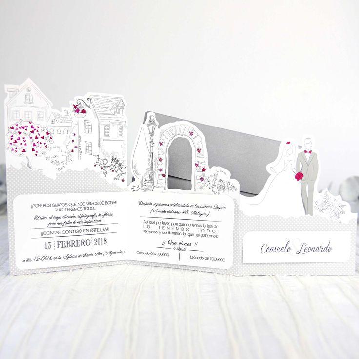 Invitatii Nunta 39238 - Invitatii Garf