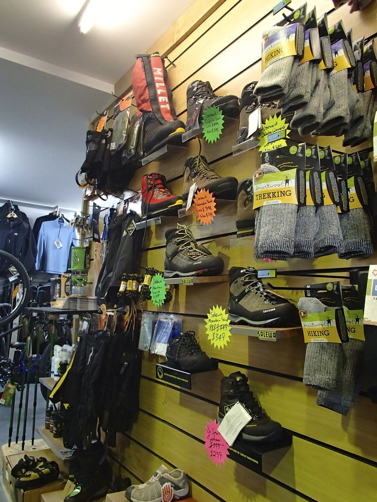 We have a range of footwear for nearly any outdoor pursuit, including climbing Mt Everest