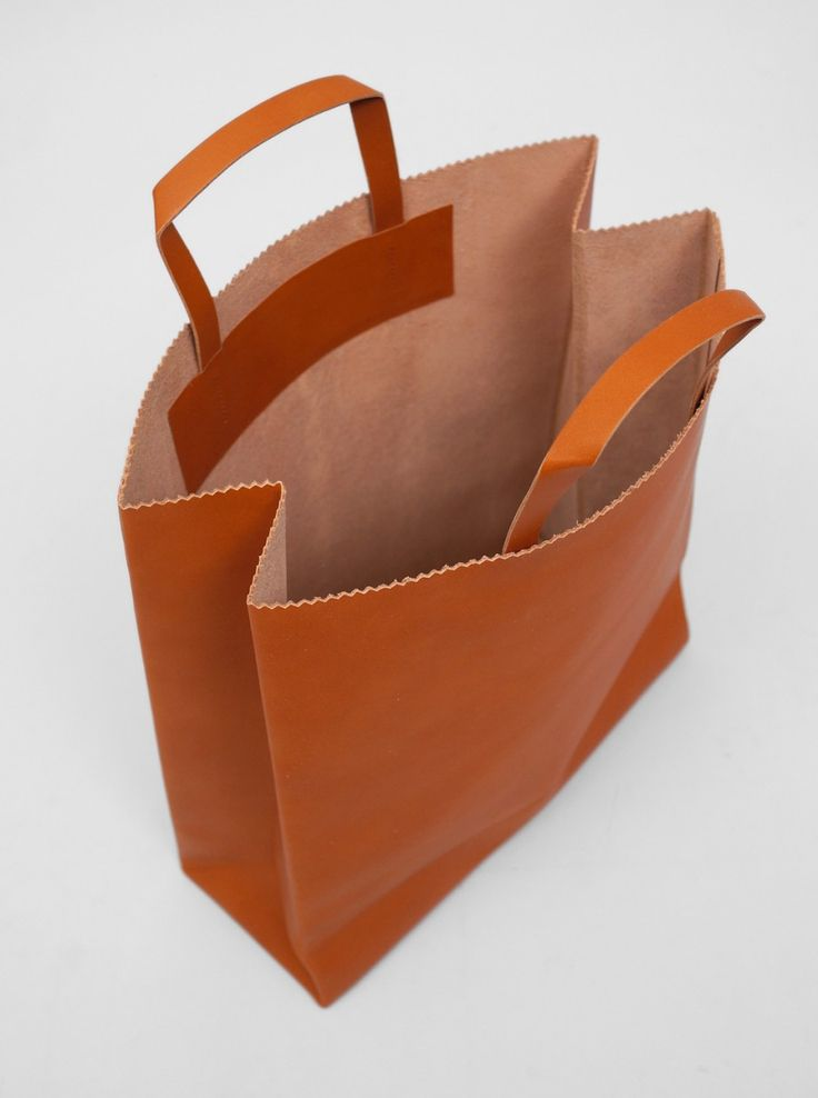 Antiatoms Leather Tote Bag