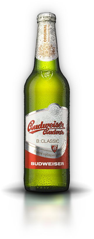 BUDWEISER BUDVAR B:CLASSIC PALE BEER ABV 4,0 % - The pale draught beer will be appreciated by every good beer enthusiast who prefers a lower alcohol content and mild bitterness. The long-term tradition of brewing České Budějovice beer and thoroughly selected ingredients (Saaz hops and Moravian malt) guarantee its top quality.