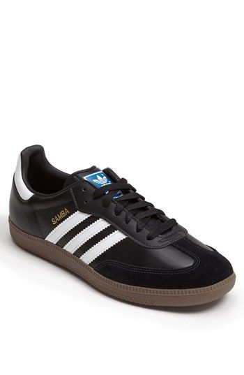 Free shipping and returns on adidas 'Samba' Indoor Soccer Shoe (Men) at Nordstrom.com. A suede overlay details the toe on a striped leather sneaker that's perfect for indoor soccer.