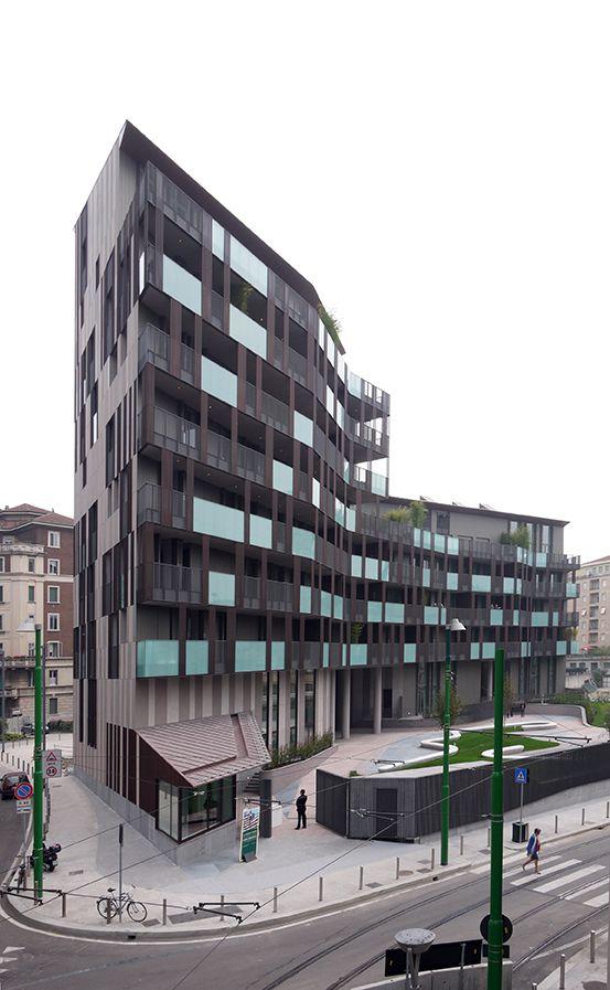 La Corte Verde di Corso Como, Milano (MI), Italia Cino Zucchi Architetti