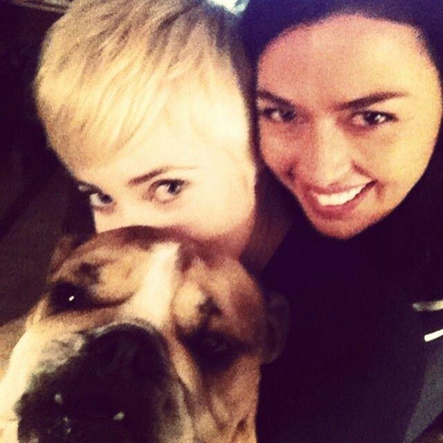 Aliyah O'Brien + Charlotte Sullivan and Penelope! ♥