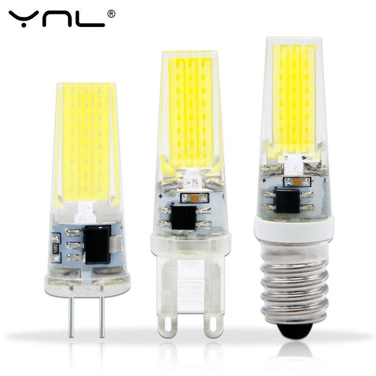 Lampada LED Lampe G4 G9 E14 220 V AC DC 12 V COB bombillas LED Ampoule Ampoule LED E14 G9 G4 COB Lumières Remplacer 20 W Halogène G4